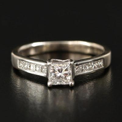 18K 0.76 CTW Diamond Ring