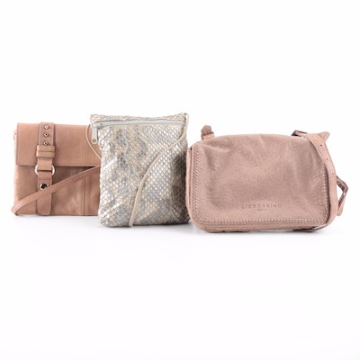 Carlos Falchi, Barneys New York, and Liebeskind Bags in Snakeskin and Leather