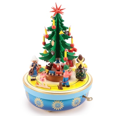 Steinbach Musical Wind-Up Christmas Tree
