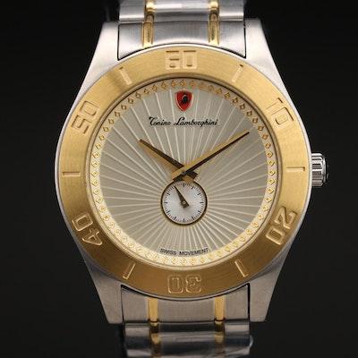 Tonino Lamborghini Two-Tone Stainless Steel Quartz Wristwatch