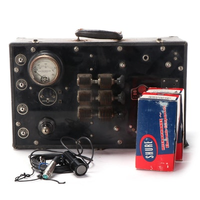 H. G. Fischer & Co. Type GP Potable Diathermy Unit, Early 20th Century