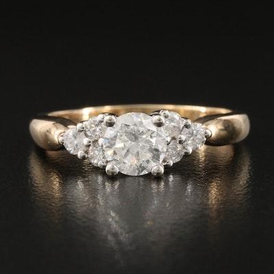 14K 1.10 CTW Diamond Ring