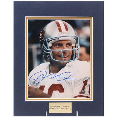 Joe Montana Signed Quarterback San Francisco 49ers (1979-1992) Photo Print