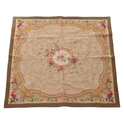 4'8 x 4'8 Machine Made Iosis French Tapestry Style Area Rug