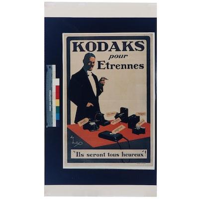"Eastman Kodak Company After Charles Crombie ""Kodaks for Christmas"""