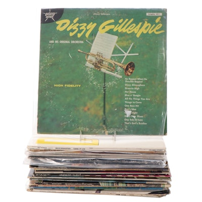 The Eagles, Miles Davis, Toto, Count Basie and Other Jazz and Rock LP Records