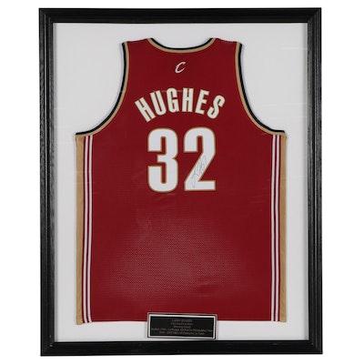 Larry Hughes Signed Cleveland Cavaliers NBA Framed Basketball Jersey