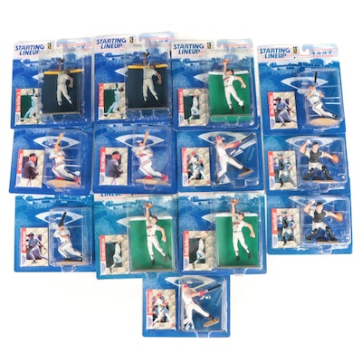"""1997 Kenner """"Starting Lineup""""  MLB Action Figures with Ken Griffey, Jr."""