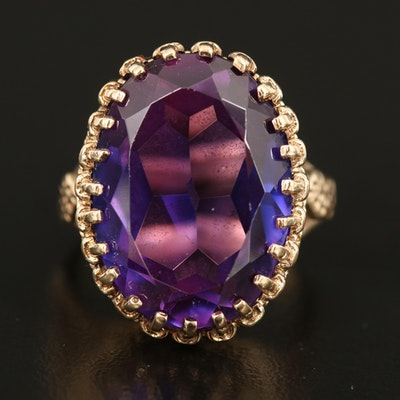 10K Color Change Sapphire Ring