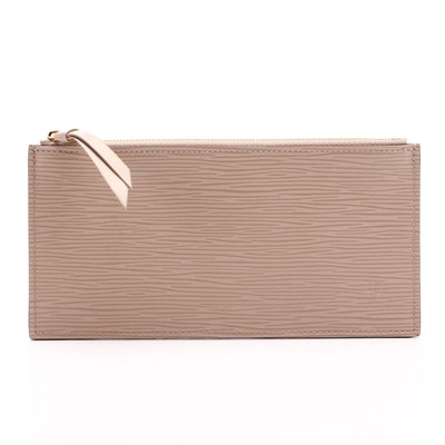 Louis Vuitton Felicie Zip Pouch Insert in Dune Epi Leather
