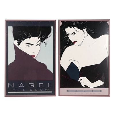 Lithograph Posters After Patrick Nagel, 1985