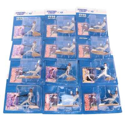 """Kenner """"Starting Lineup"""" 1996 MLB Figures with Puckett, O'Neill and McGriff"""