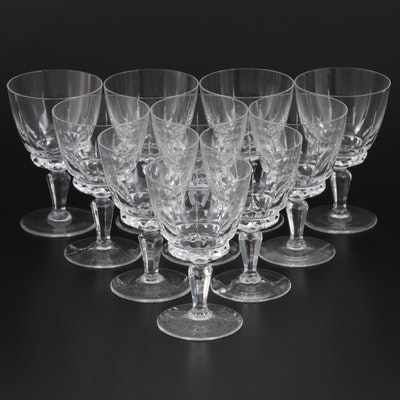 "Spiegelau ""Palermo"" Glass Champagne Coupes, 1960s"