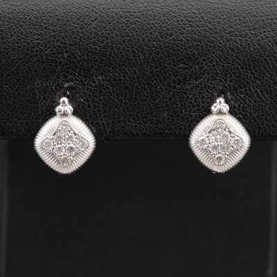 14K 0.32 CTW Diamond Drop Earrings