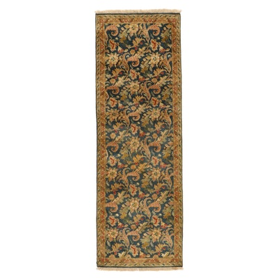 3'11 x 12'2 Hand-Knotted Persian Arak Long Rug