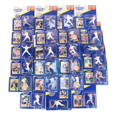 "Kenner ""Starting Lineup"" 1991 MLB Figures with Bo Jackson and Don Mattingly"