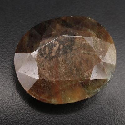 Oval Faceted Corundum