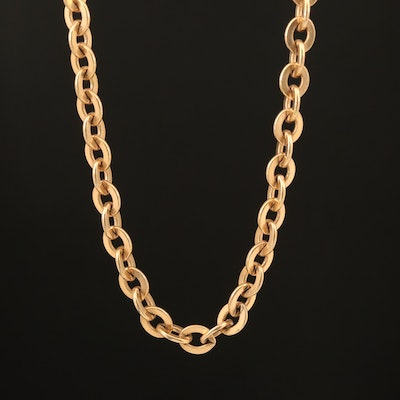 Sweet Gold-Filled Cable Chain