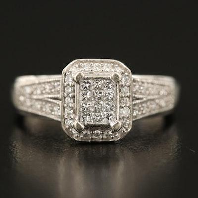 10K 0.45 CTW Diamond Ring