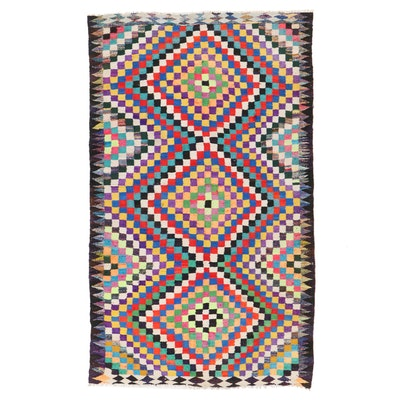 6'6 x 11' Handwoven Persian Kilim Area Rug