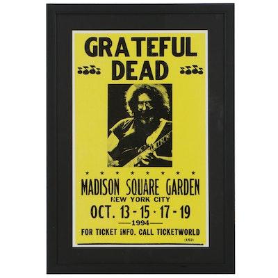 Giclée After Grateful Dead at Madison Square Garden Poster