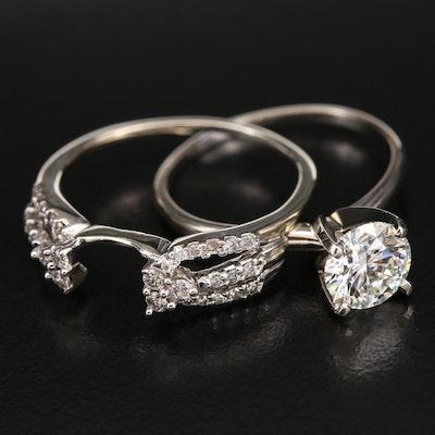 14K 1.87 CTW Diamond Ring Set