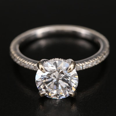 18K 2.60 CTW Diamond Ring