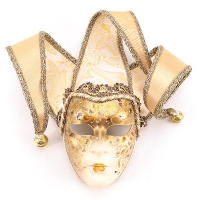 Venetian Original Hand-Painted Decorative Masquerade Mask