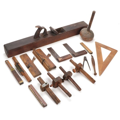 Woodworking Tools, Late 19th/Early 20th Century