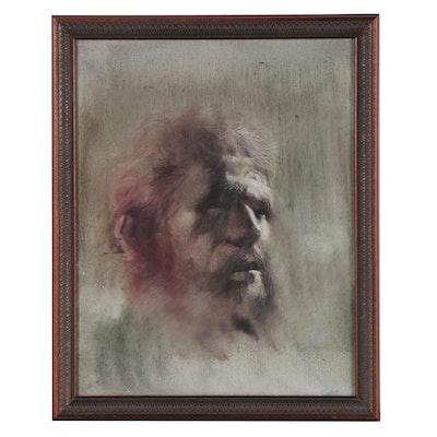 Portrait Oil Painting of a Gentleman, 21st Century