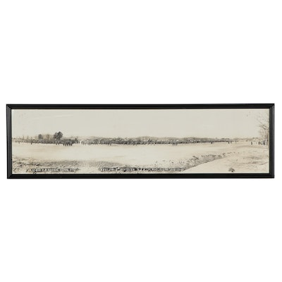 Silver Print Photograph of The 5th Division Training Regiment, Fort McClellan