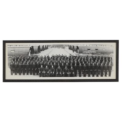 Silver Print Photograph of The 2nd Infantry Training Regiment, Camp Pendleton