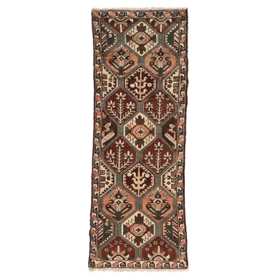 3'6 x 9'10 Persian Bakhtiari Long Rug