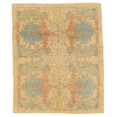 6'11 x 8'5 Hand-Knotted Turkish Donegal Area Rug