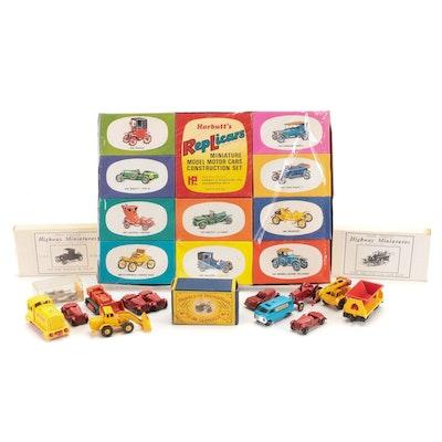 Harbutt's Replicars, Lesney Diecast Cars, Jordan Products Highway Miniatures