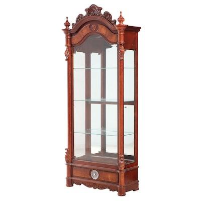Pulaski Rococo Revival Style Display Cabinet