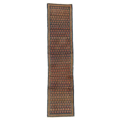 2' x 10'4 Hand-Knotted Indo-Persian Seraband Carpet Runner