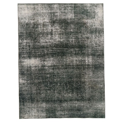8'8 x 11'7 Hand-Knotted Persian Overdyed Room Sized Rug