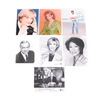 Barbara Walters, Diane Sawyer, Hugh Downs, and More Signed Photo Prints