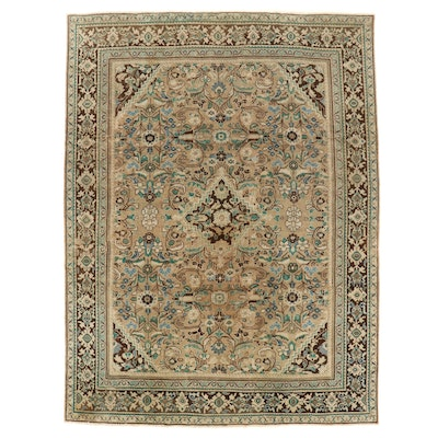 9' x 12' Hand-Knotted Persian Mahal Room Sized Rug