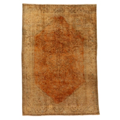 7'1 x 10'4 Hand-Knotted Persian Area Rug
