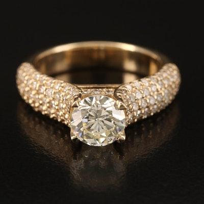 14K 2.36 CTW Diamond Ring
