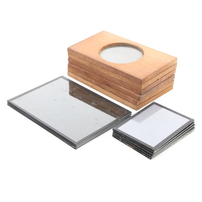 Kodak and Other Glass Plates and Wooden Viewing Slides
