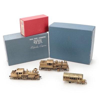 United Scale Models, Howell Day Brass HO Model Railway Locomotives, Rail Bus