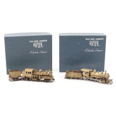 United Scale Models Brass HO Model Railway Pacific Coast Shay, Ma & Pa Engine