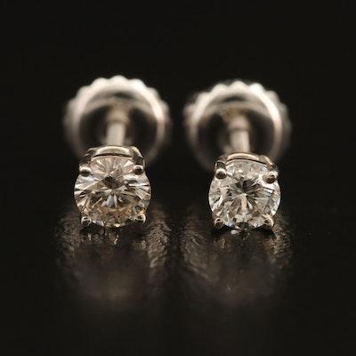 14K 0.33 CTW Diamond Stud Earrings