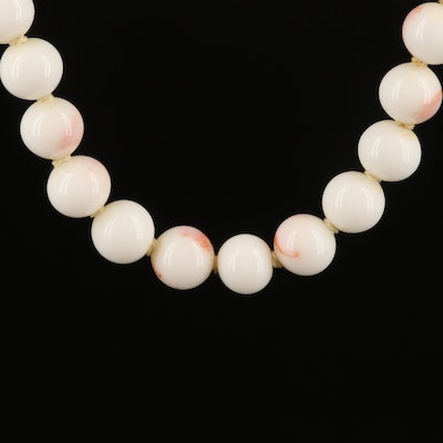 Endless Coral Necklace