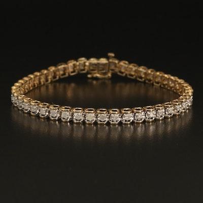 10K 1.96 CTW Diamond Line Bracelet