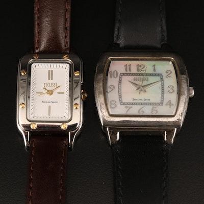 Ecclissi Sterling Silver Quartz Wristwatches