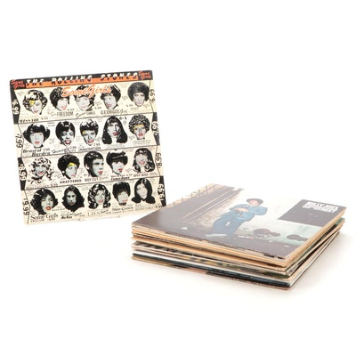 Billy Joel, The Rolling Stones, Johnny Cash and Other Vinyl Records
